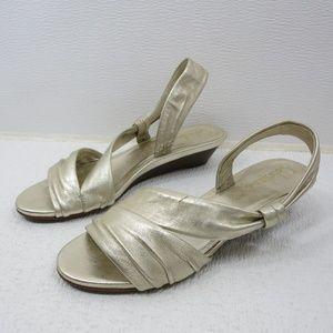 Cole Haan Strap Leather Boutique Slingback Sandals